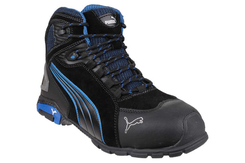 Puma Safety Rio Mid Lace-up Safety Boot Black