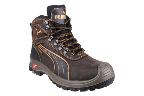 Puma Safety Sierra Nevada Mid Lace up Boot Brown