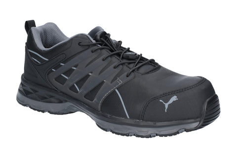 Puma Safety Velocity 2.0 Lace Up Safety Shoe Black