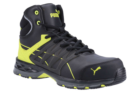 Puma Safety Velocity 2.0 MID S3 Safety Boot Yellow