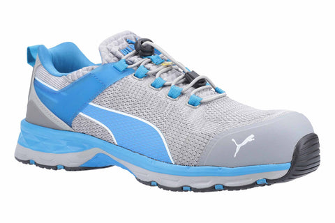 Puma Safety Xcite Low Toggle Safety Trainer Grey/Blue