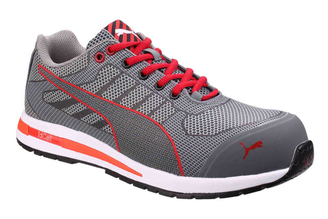 Puma Safety Xelerate Knit Low Safety Trainer Grey