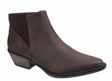Rocket Dog Alarm Womens Pull On Dress Ankle Boot Brown
