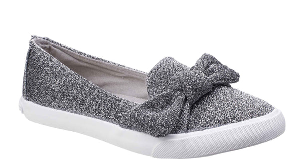 Rocket Dog Clarita Disco Slip On Trainer Silver