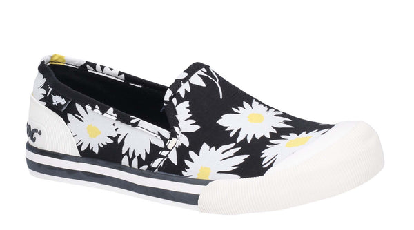 Rocket Dog Jazzin Slip Jazzy Slip On Beach Shoe Black