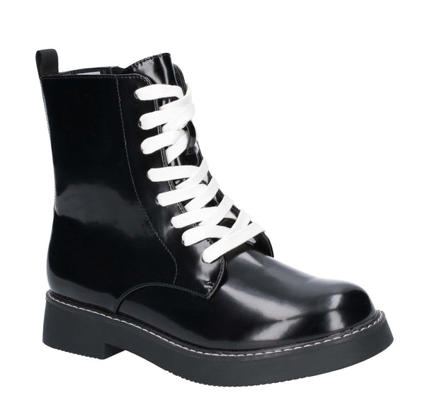 Rocket Dog Jestina Zip Boot Black