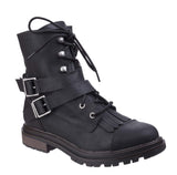 Rocket Dog Lacie Womens Combat Style Casual Boot Black