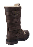 Rocket Dog Lance Womens Warm Lined Calf Length Winter Boot