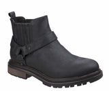 Rocket Dog Loki Womens Biker Style Pull On Ankle Boot Black