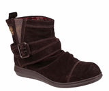 Rocket Dog Mint Womens Pull On Casual Ankle Boot Brown