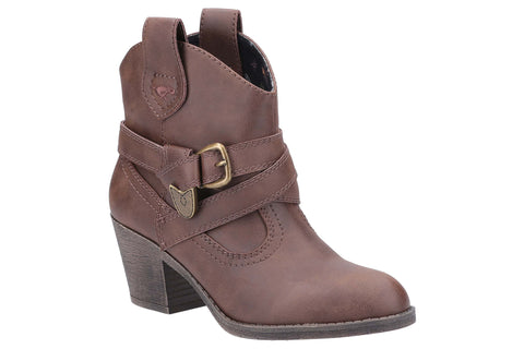 Rocket Dog Satire Womens Western Inspired Ankle Boot