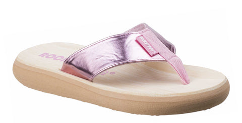 Rocket Dog Spotlight Pink Shimmy Womens Summer Flip Flop