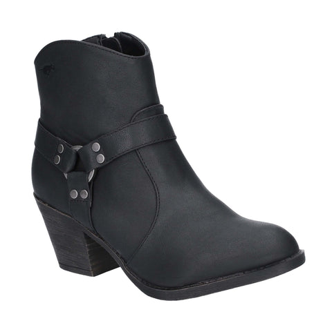 Rocket Dog Stellan Zip Boot Black