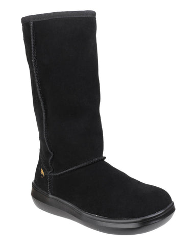 Rocket Dog Sugardaddy Womens Warm Lined Mid Calf Boot Black