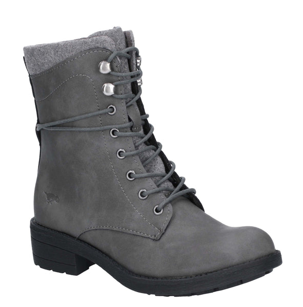 Rocket Dog Tayte Lace Up Boot Grey