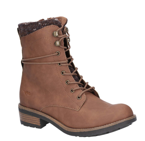 Rocket Dog Tayte Lace Up Boot Walnut