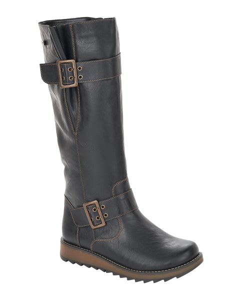 Remonte D8886 TEX Womens Leather Knee High Boot