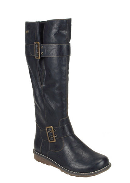 Remonte R1073 Womens Warm Lined Water Resistant Long Leg Boot