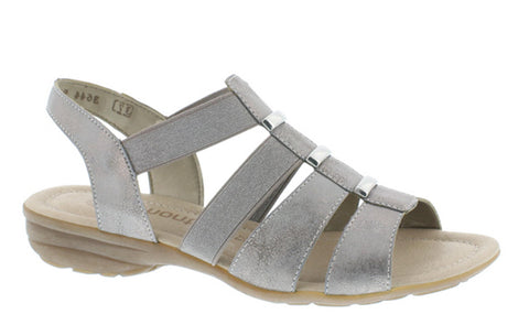 Remonte R3644 Womens Slip On Slingback Casual Sandal