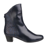 Riva Armadillo Pitone Womens Leather Dress Ankle Boot