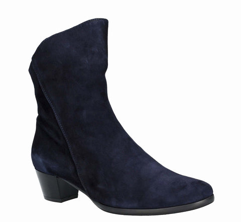 Riva Armadillo Womens Suede Leather Dress Ankle Boot