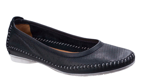 Riva Brindisi Womens Slip On Casual Pump Shoe