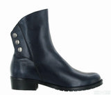 Riva Buttons Womens Leather Ankle Boot