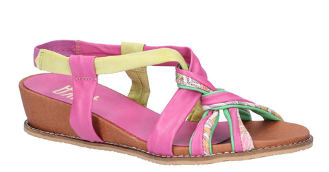 Riva Diamond Womens Leather Slip On Slingback Summer Sandal