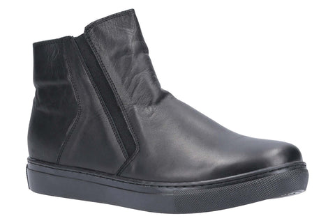 Riva Elif Womens Leather Ankle Boot