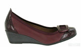Riva Fellino Womens Wedge Heeled Slip On Dress Shoe