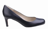 Riva Fermo Womens Plain Fronted Leather Dress Court Shoe