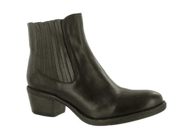 Riva Kesa Womens Pull On Leather Ankle Boot