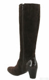 Riva Latina Womens Suede Leather Long Leg Dress Boot