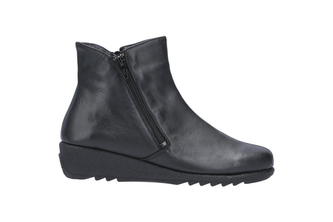 Riva Love Womens Leather Ankle Boots