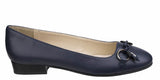 Riva Lucia Womens Leather Slip On Ballerina Pump