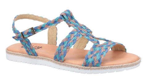 Riva Port De Molins Womens Strappy Flat Casual Sandal