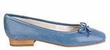 Riva Provence II Womens Slip On Ballerina With Bow Trim