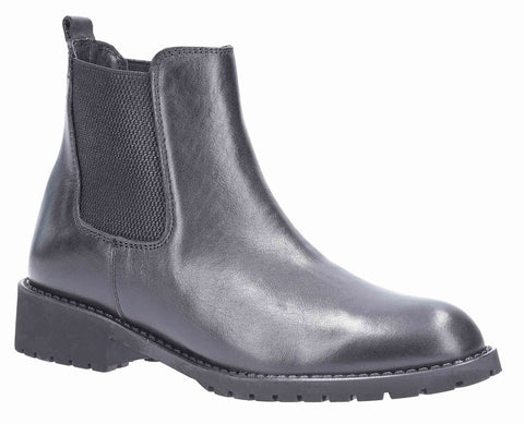 Riva Saronic Womens Pull On Chelsea Ankle Boot