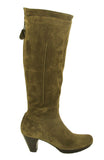 Riva Toucan Womens Long Leg Suede Leather Dress Boot