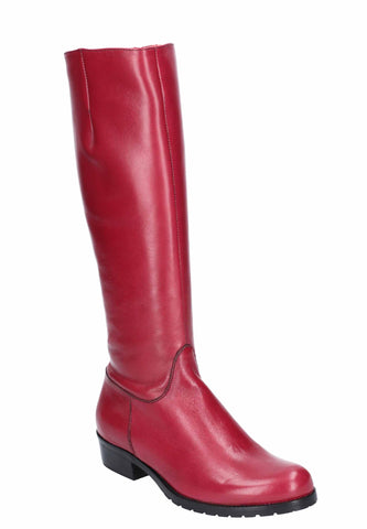 Riva Vicenza Womens Classic Long Leg Leather Dress Boot