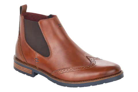 Rieker 34660-24 Mens Wide Fit Chelsea Boot