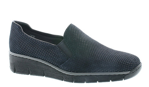 Rieker 53766-18 Womens Slip On Casual Shoe