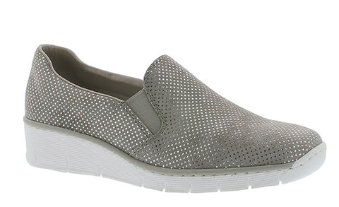 Rieker 53766-41 Womens Slip On Casual Shoe
