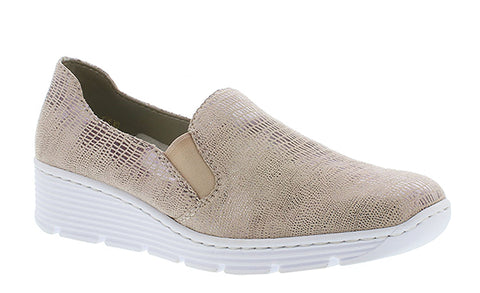 Rieker 587B0 Womens Slip On Casual Shoe