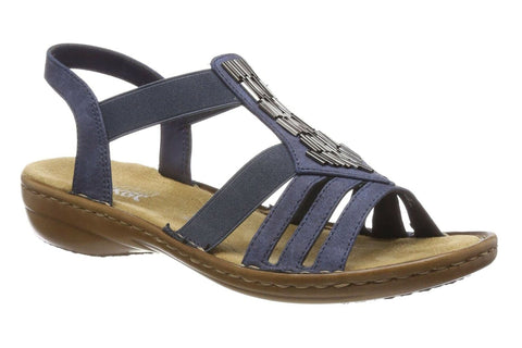 Rieker 60800 Womens Slingback Sandals