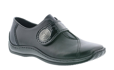 Rieker L1760-00 Womens Touch Fastening Casual Shoe