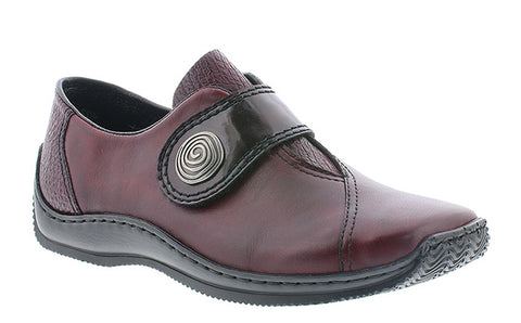Rieker L1760-35 Womens Touch Fastening Casual Shoe