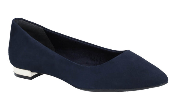 Rockport Total Motion Adelyn CH3413 Womens Suede Slip On Ballet Pump