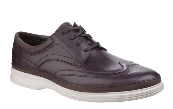 Rockport DresSports II Lite Wing Tip BX2568 Men's Lace Up Shoe Cordov BX2568