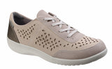 Rockport Emalyn Tie BX1995 Womens Lace Up Casual Shoe Metal BX1995